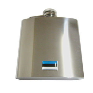 Estonia Flag 6oz Flask